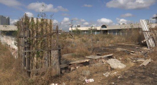 Obras do Complexo de Polícia Científica estão abandonadas em Caruaru