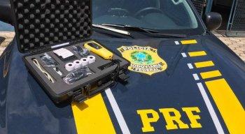 O novo bafômetro será utilizado em Pernambuco pela PRF na operação Proclamação da República