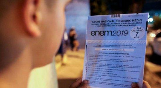 Inep divulga gabarito do Enem 2019; confira