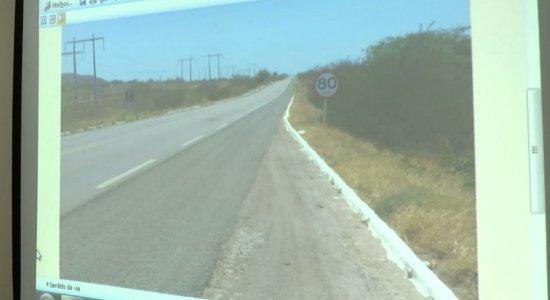 Motorista da caminhonete teria desrespeitado placa com limite de velocidade