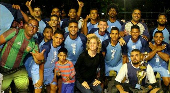 Formoso é o campeão regional na categoria Aberto do Recife Bom de Bola