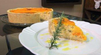 Torta de Frango com Batata e Requeijão