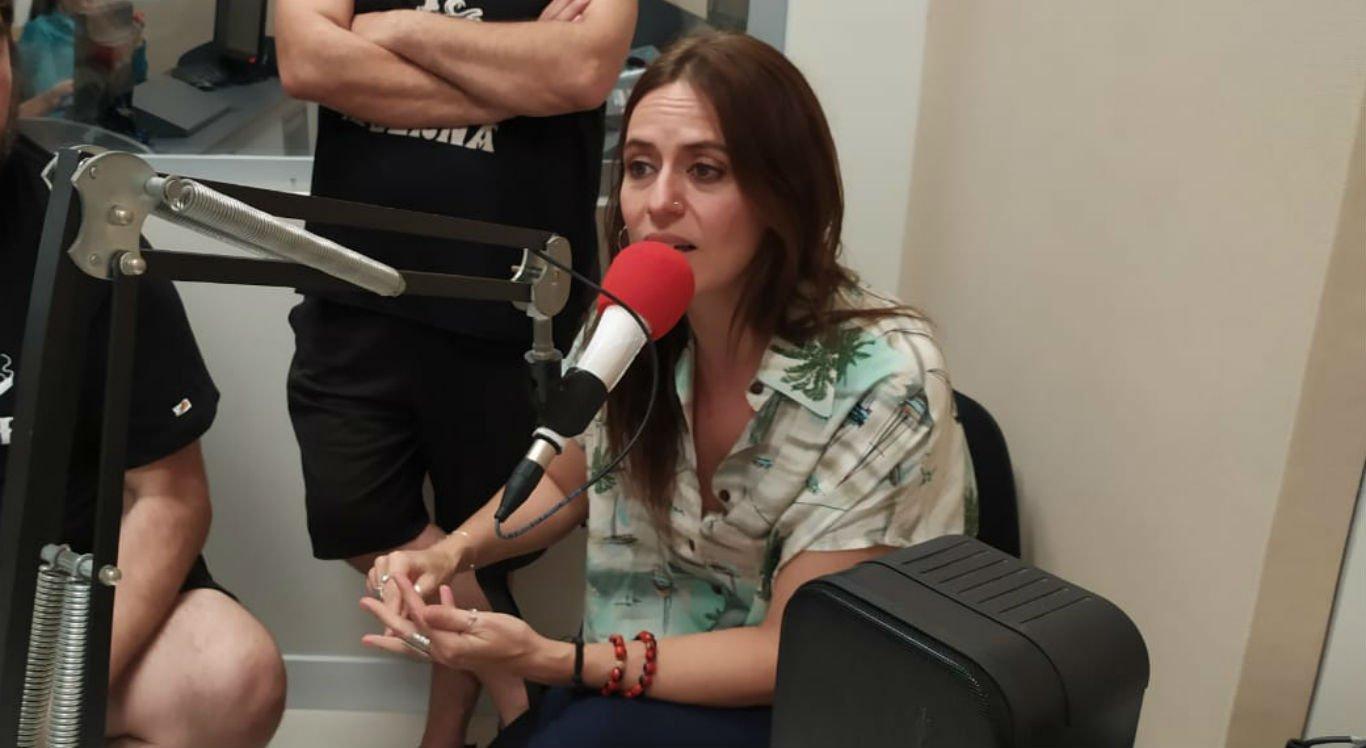 Atriz Itziar Ituño em visita ao Sistema Jornal do Commercio, em Caruaru