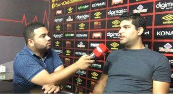 João Victor Amorim entrevistou Lucas Drubscky, executivo de futebol do Sport