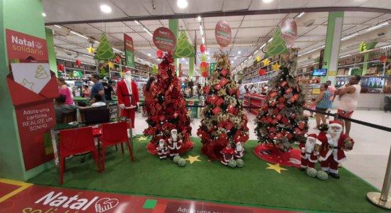Ferreira Costa lança campanha de Natal Solidário