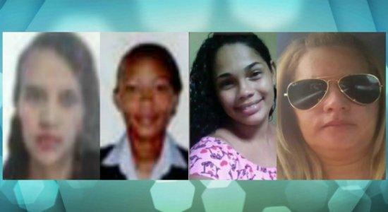 Quatro mulheres são assassinadas no fim de semana em Pernambuco