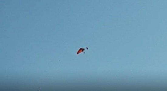 Vídeo: praticante de voo livre cai de asa delta no Agreste