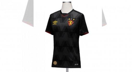 Divulgado terceiro uniforme do Sport