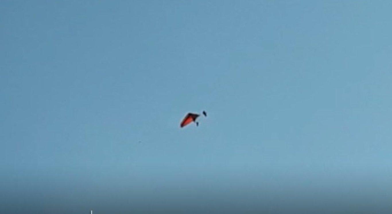 Homem cai de asa delta em Taquaritinga do Norte