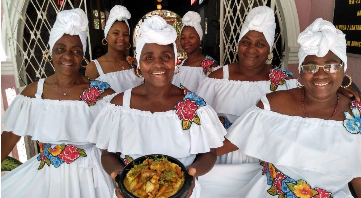 Representantes da Comunidade Quilombola de Buíque