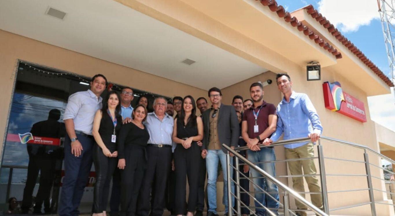 Visita foi a primeira realizada à nova sede da Rádio Jornal na cidade