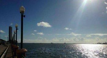 A temperatura deve variar entre 24ºC e 32ºC no Grande Recife e entre 20ºC e 33º na Zona da Mata