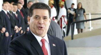 Ex-presidente do Paraguai Horacio Cartes é alvo da Lava Jato