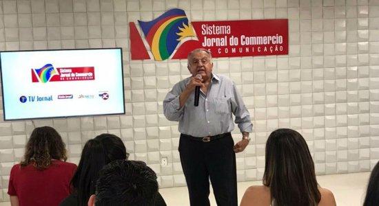 Presidente do Grupo JCPM, João Carlos Paes Mendonça, na sede do SJCC Interior em Caruaru
