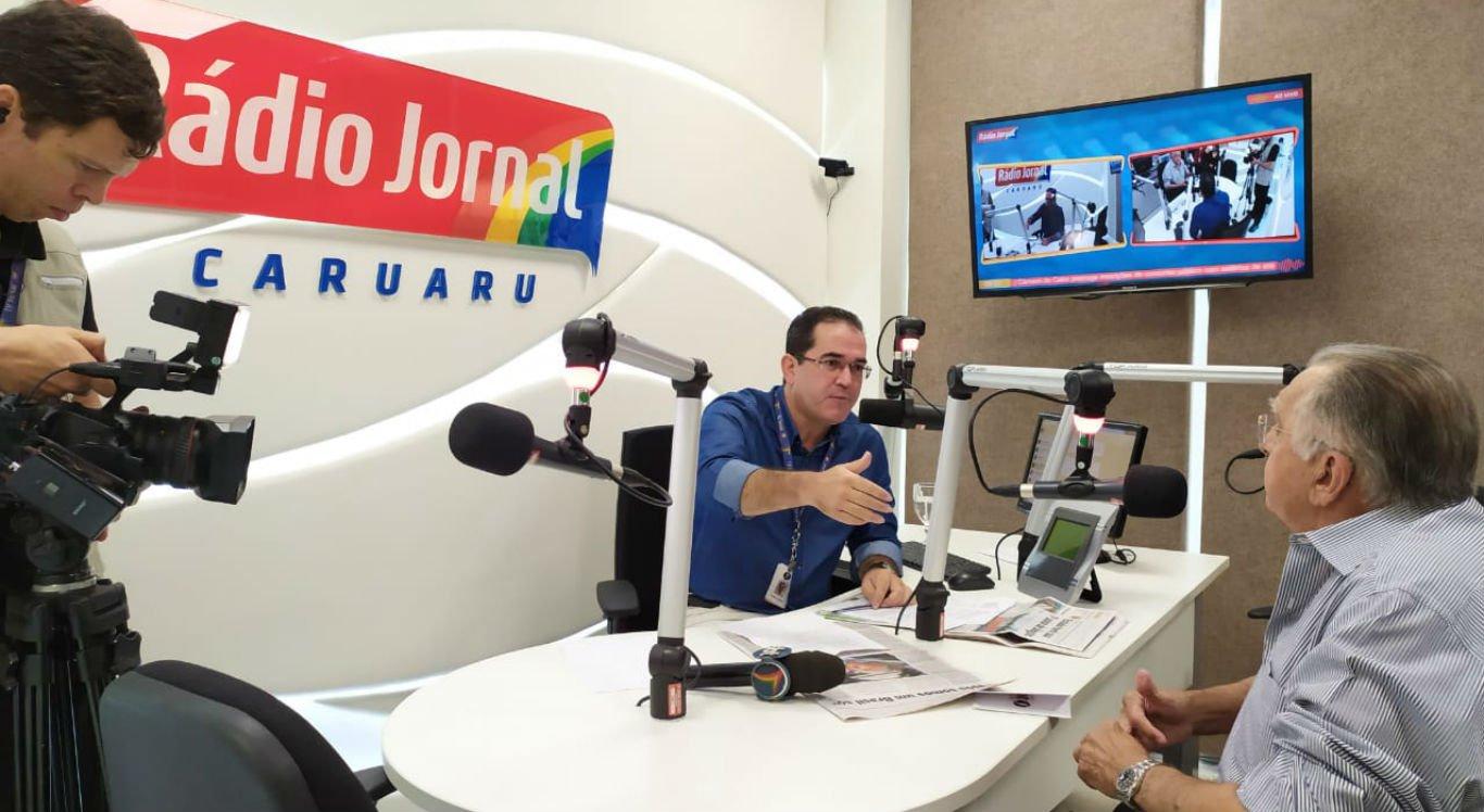 Entrevista do presidente do Grupo JCPM, João Carlos Paes Mendonça, ao comunicador Dilson Oliveira