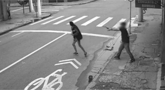 Suspeito de matar moradora de rua que pediu R$ 1 de esmola é preso