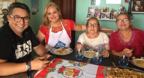 Chef Welington prepara Ninho in Brodo em Paulista