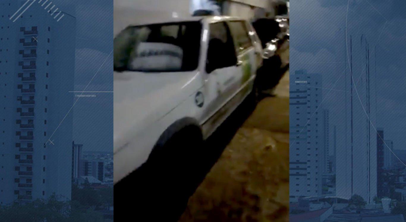 Carro oficial da Prefeitura de Bezerros teria sido utilizado para ir a jogo