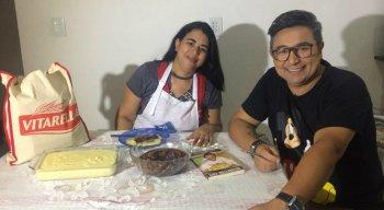 Chef Welington preparou uma Carne de Cassarola com Polenta na casa da Renata