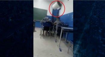 O professor contou que se sentiu humilhado com a situação
