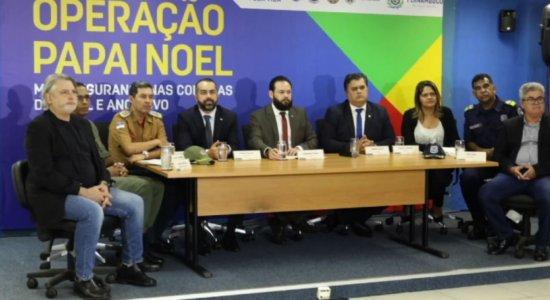Operação Papai Noel: SDS reforça segurança no comércio do Recife