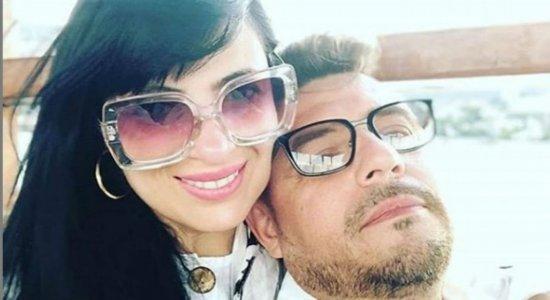 Fernanda Brum e marido sofrem acidente de carro no Rio de Janeiro
