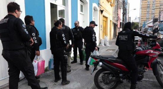 Polícia faz operação contra quadrilha que pratica crimes desde 2010