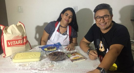 Chef Welington prepara Carne de Caçarola com Polenta na Imbiribeira