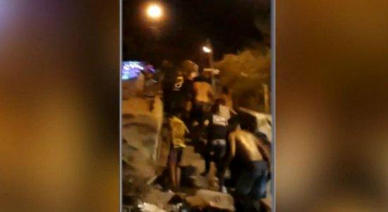 Vídeo: confronto entre grupos rivais termina em tiroteio em Olinda