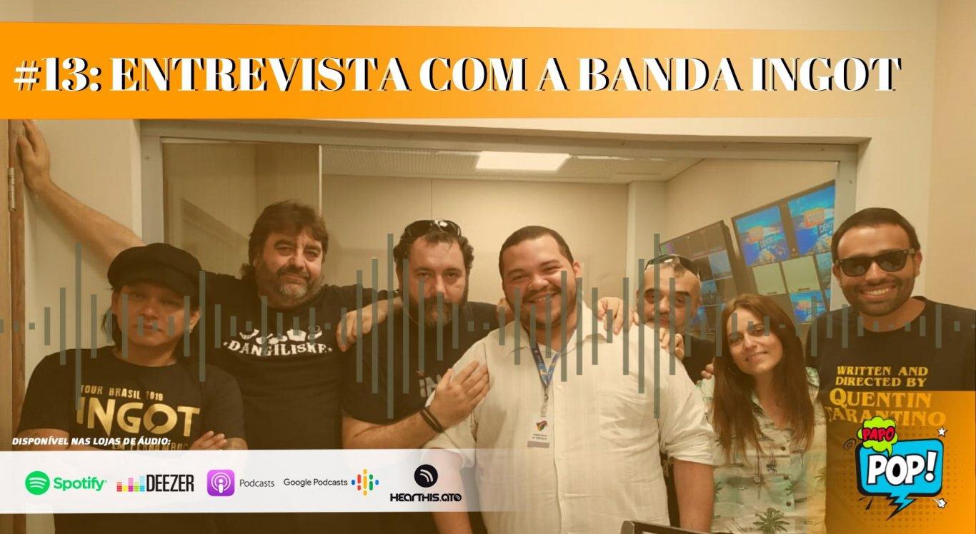 Elton Braytnner e Antonio Neto receberam a banda nos estúdios da Rádio Jornal Caruaru