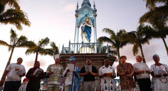 Morro de Nossa Senhora da Conceição promove cerimônia de inclusão religiosa