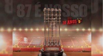Sport e  Flamengo  disputaram na justiça o título de campeão de 87
