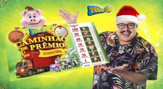Confira os números do 2° sorteio da Tele Sena de Natal (01/12/19)