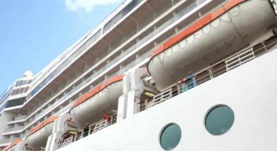 Temporada de navios tem início em Pernambuco nesta segunda-feira