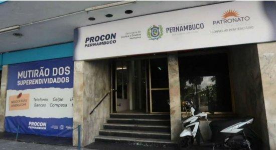 Procon PE realiza mutirão para negociar ou quitar dívidas