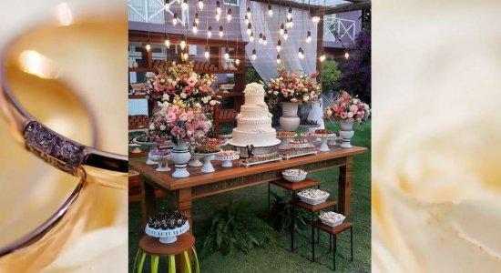 Casamentos simples são a escolha de casais com poucos recursos financeiros