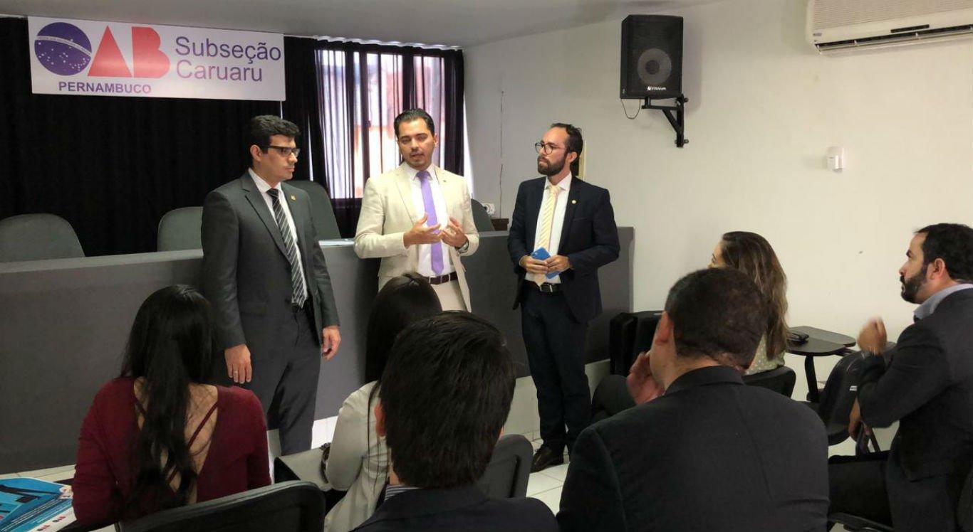 Termo de cooperação foi assinado pela OAB Caruaru e pela Polícia Civil