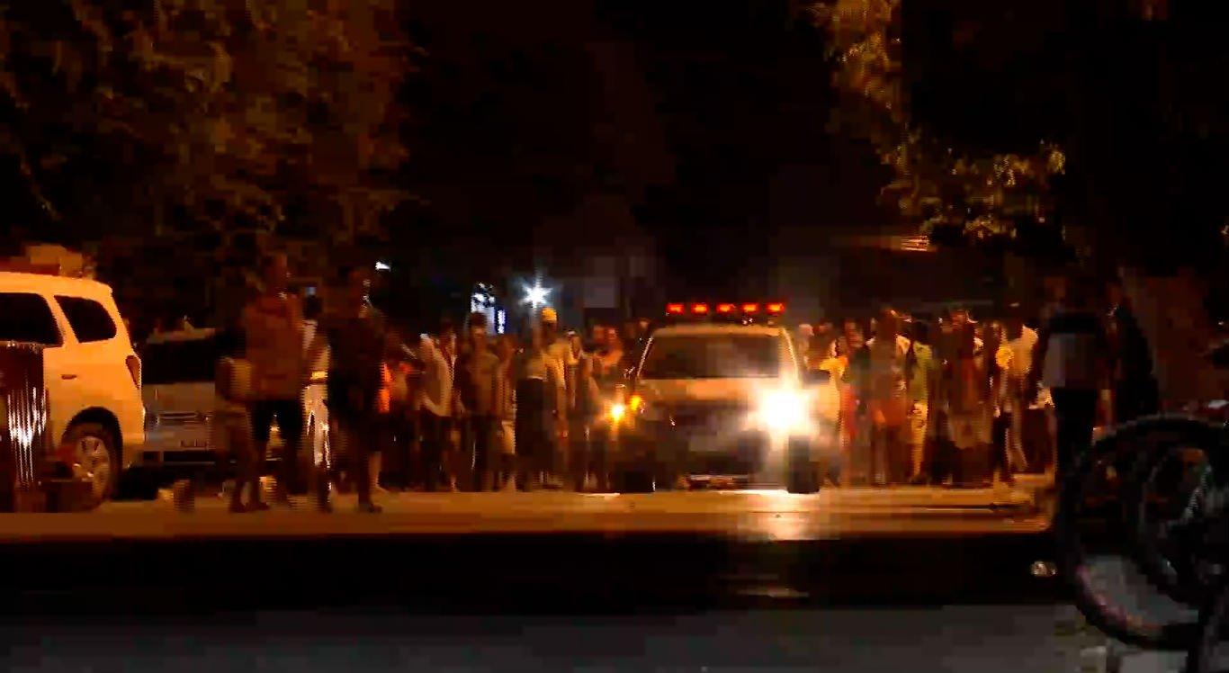 Cortejo fúnebre foi acompanhado por familiares e amigos da banda marcial