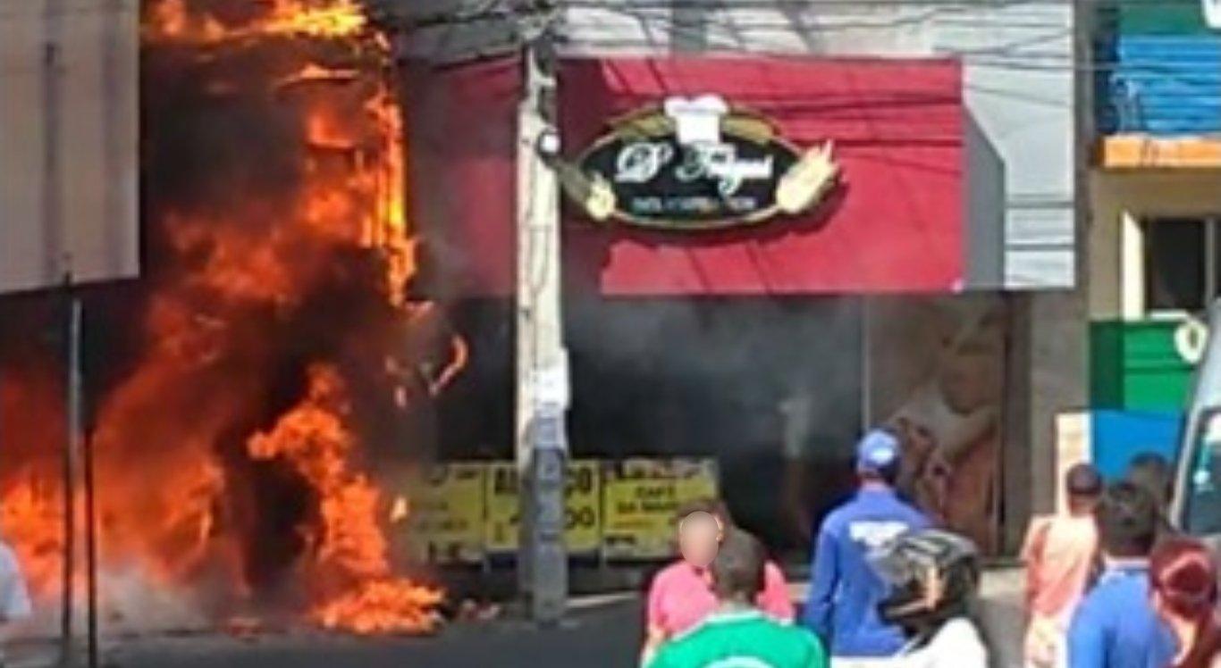 Incêndio em loja de Garanhuns