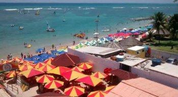 As praias são um ponto forte para o turismo em Pernambuco