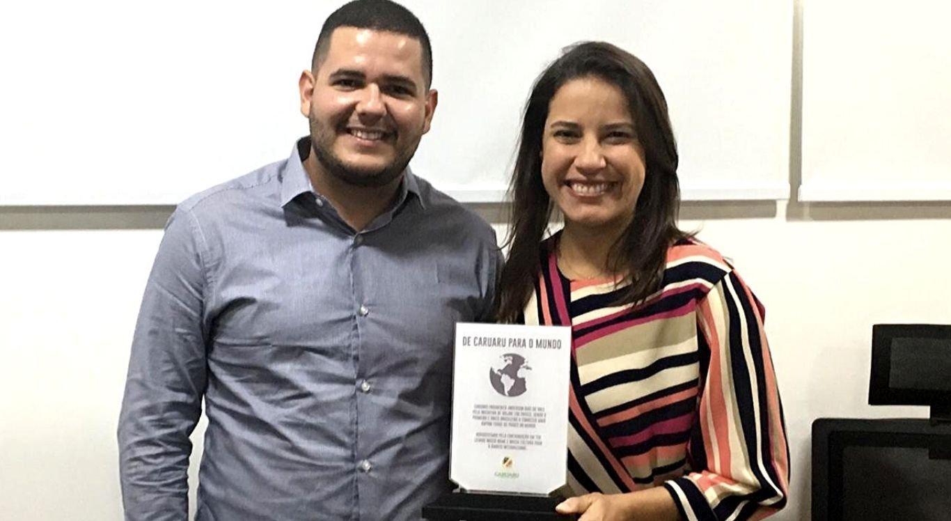 Anderson Dias esteve em Caruaru nesta quarta-feira (27)