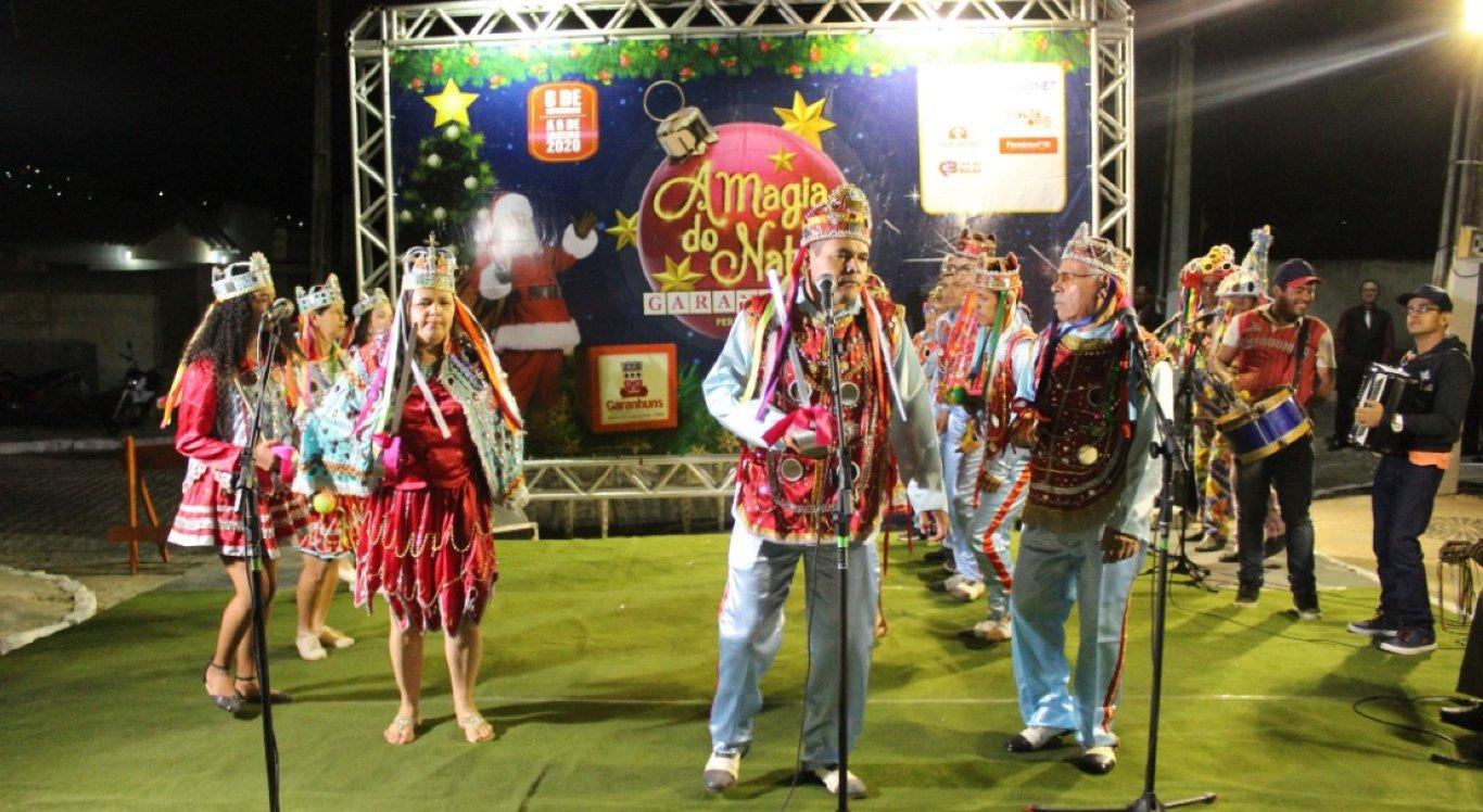A festa terá programação cultural até o dia 31 de dezembro