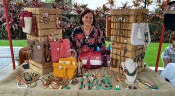 O bazar acontece no salão de festas do Edifício Príncipe de Alcântara