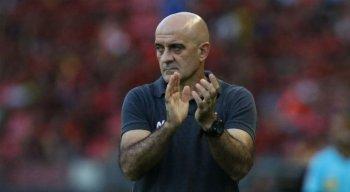 Itamar Schulle esteve no Recife neste mês para comandar Vila Nova-GO contra Sport.