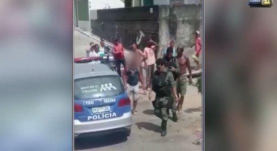 Vídeo: suspeito de tentar estuprar sobrinha quase é linchado no Recife