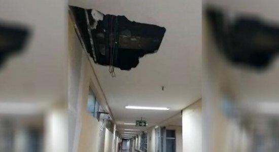Defesa Civil interdita parte do Hospital Getúlio Vargas após estrondos