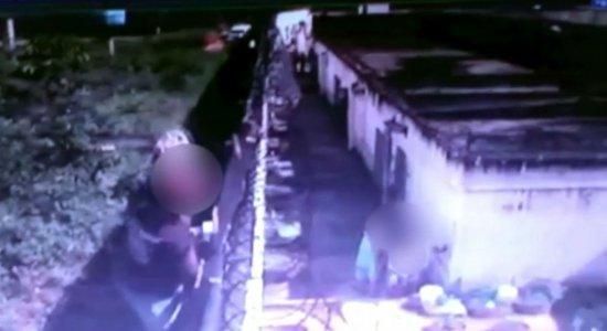 Vídeo mostra fuga de internos da Funase do Cabo de santo Agostinho