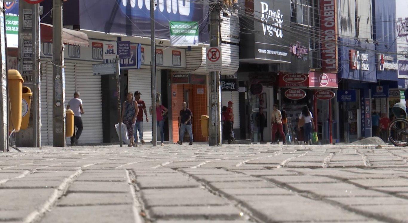 Reforma ocorre nas ruas XV de Novembro e 7 de Setembro