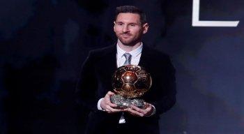 Messi ganhou em 2009, 2010, 2011, 2012, 2015 e 2019