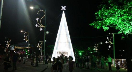 Confira como foi a abertura do Natal no Recife